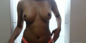 sensual body  bare black