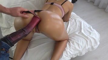 fantasy fulfilled horny blonde