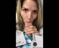 oral sex blonde blowjob cumshot