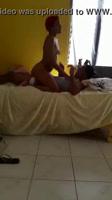 Puta dominicana deja que su amiga la grabe con su cliente