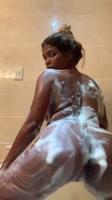 Dominicana culona se graba bailando